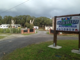 Riverbreeze Caravan  Cabin Park - Australia Accommodation