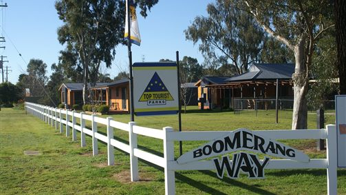 Boomerang Way Tourist Park - Australia Accommodation