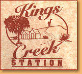 Kings Creek Station - Australia Accommodation