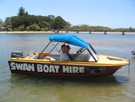 Swan Boat Hire - Australia Accommodation