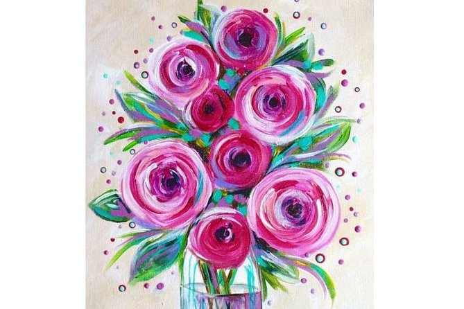 Pink Roses - 65 Northbourne 7.30-9.30pm