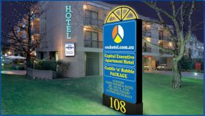 Capital Executive Apartment Hotel - Australia Accommodation