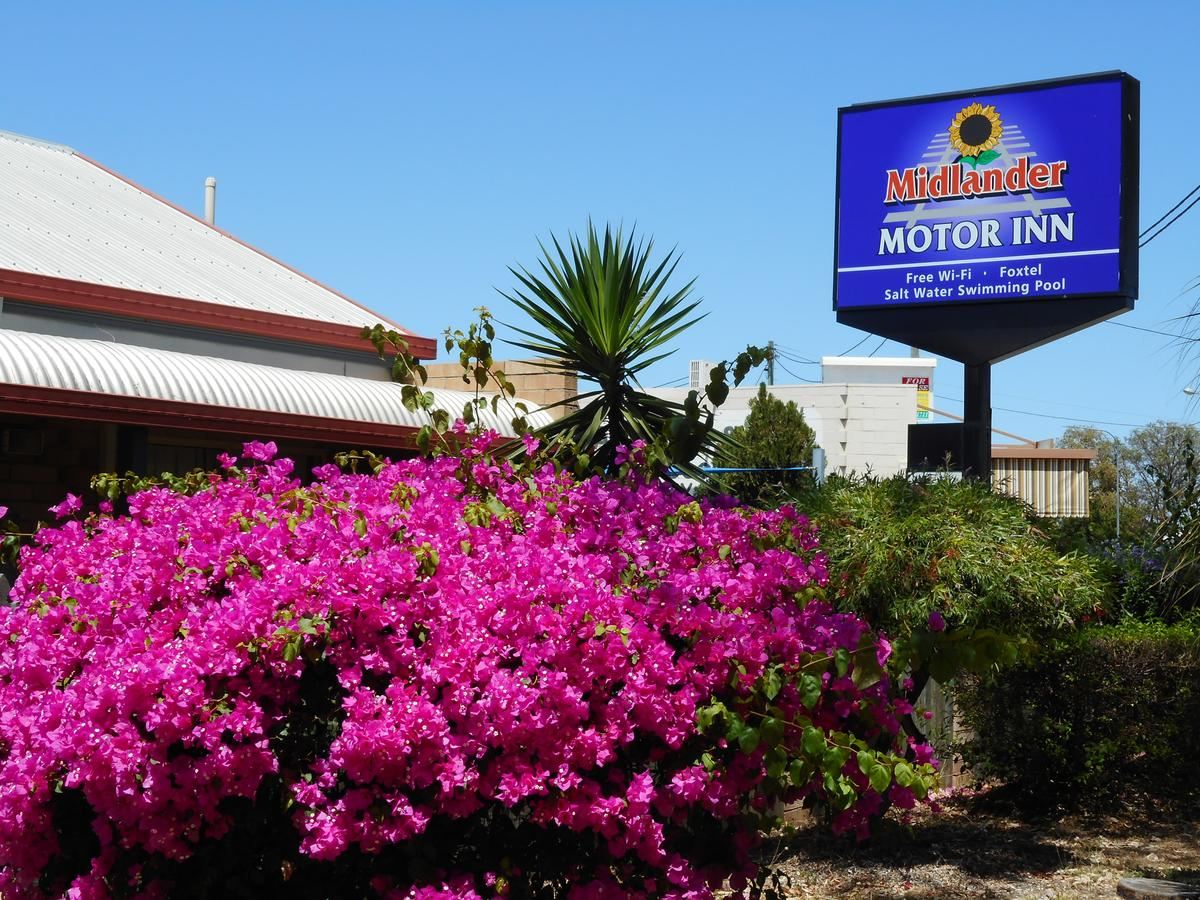 Midlander Motor Inn - Australia Accommodation