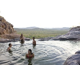 Gunlom Plunge Pool - Australia Accommodation