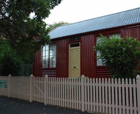 19th Century Portable Iron Houses - Australia Accommodation