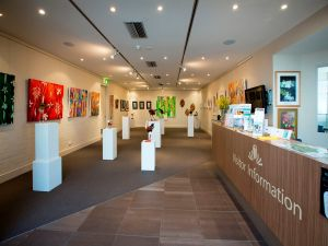 Australian National Botanic Gardens Visitor Centre Gallery - Australia Accommodation